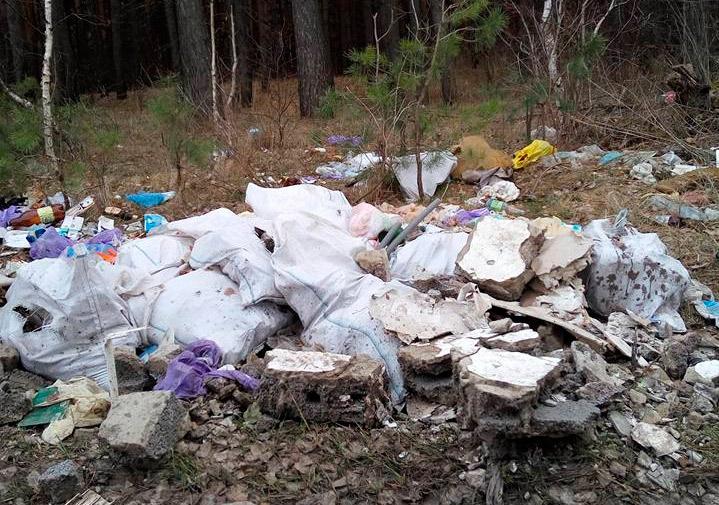 сміття-біля-благодатного