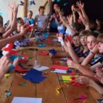 В Золотоніський гімназії запрацював перший франкомовний табір [ВІДЕО]