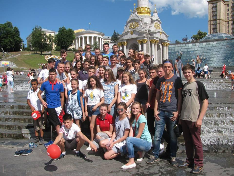 молодіжна ліга сміху екскурсія до києва